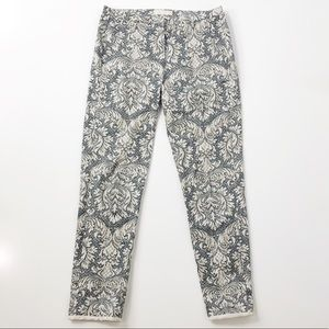 'S Max Mara Patterned Cropped Pants